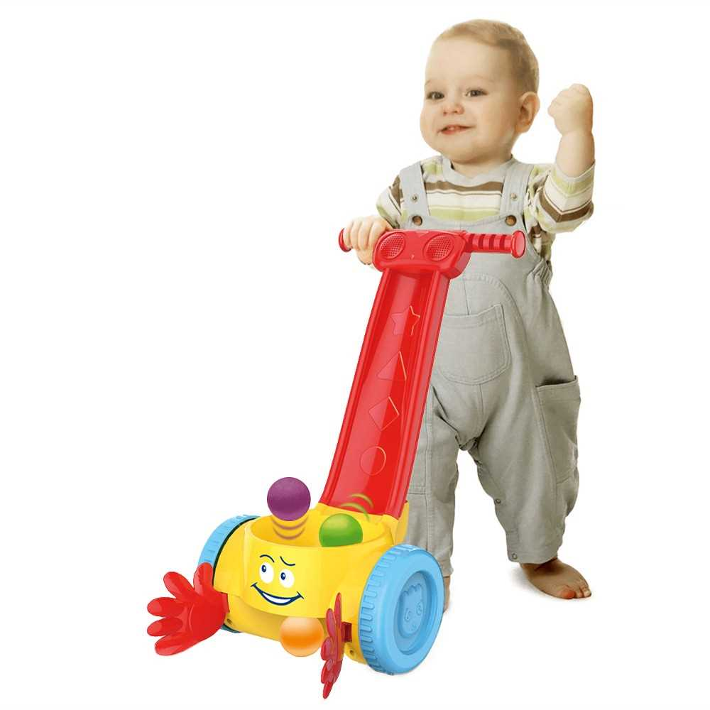 Iguana Online Baby Popper Walker Scoop and Whirl Ball with Sound and Music BW818